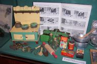 1940s Toy kitchen set